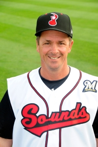 Al LeBoeuf in 2012 as Sounds hitting coach Photo courtesy of Mike Strasinger / Nashville Sounds