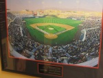 Photos from notable events in the ballpark's history are all over the Press Box and Front Office areas, including a shot from the franchise's inaugural game.
