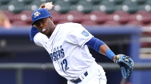Sounds INF Irving Falu played in 578 games for Omaha (Royals) from 2004, 2009-13. Photo courtesy of MiLB.com