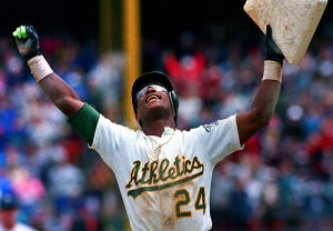 "Hall of Famer and ""Man of Steal"" Rickey Henderson"