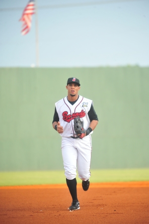 Rangers outfielder Carlos Gomez (Photo courtesy of Mike Strasinger / Nashville Sounds)