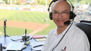 Salt Lake broadcaster Steve Klauke (Photo courtesy of Salt Lake Bees)