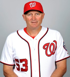 Nationals senior baseball advisor Randy Knorr